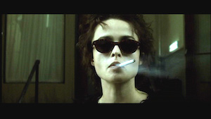 Marla Singer Smoking Cigarette