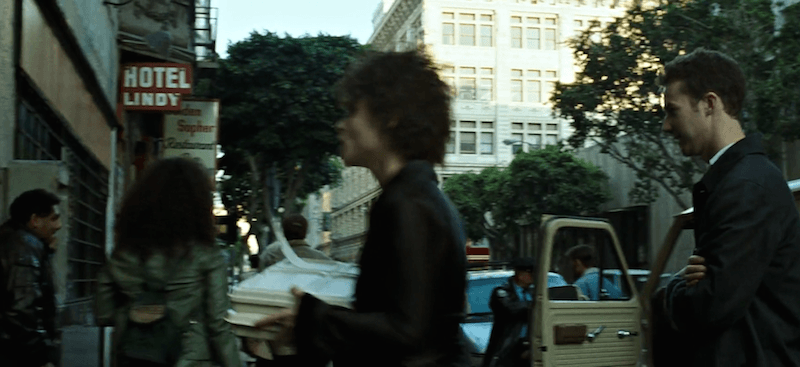 Fight Club Hotel Exterior Marla Singers Apartment Lindy