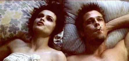 Marla and Tyler in Bed Abortion